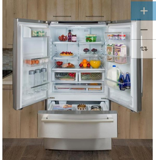 Brand new Bosch french doors refrigerator