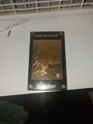 Gold earnhardt cards $30 each or both for $50 for Sale in Lynchburg, VA