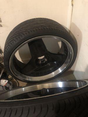 24 inch rims for Sale in Norfolk, VA