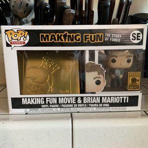 Making Fun Movie & Brian Mariotti Funko Bundle! for Sale in Hayward, CA
