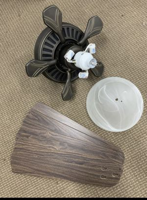 """52"""" Ceiling Fan with Light for Sale in Mission Viejo, CA"""