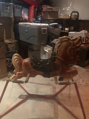Antique toy rocking horse for Sale in Easton, MA