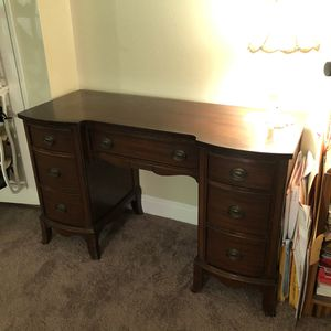 Antique desk hickory wood for Sale in Stanton, CA