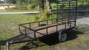 4ft×8ft Trailer (Great Shape) for Sale in Palmetto, FL