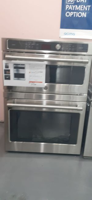 Microwave Oven Combo Stainless Steel GE Cafe for Sale in Houston, TX