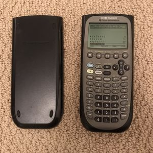 Ti-89 ti 89 titanium graphing calculator for math science for Sale in Burtonsville, MD