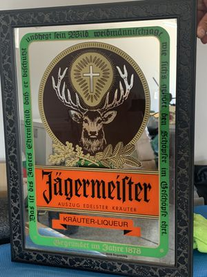 Jäger bar mirror for Sale in Stockton, CA