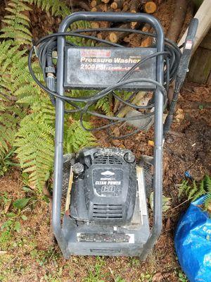 Pressure washer. 2100 psi Generac. for Sale in Marysville, WA