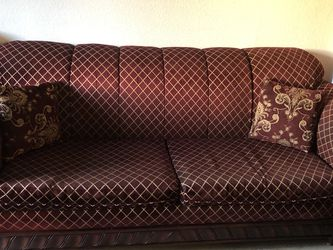 Sofas In Great Condition. Just On One Side A Litle Discoloration Due To Heater. for Sale in East Los Angeles,  CA