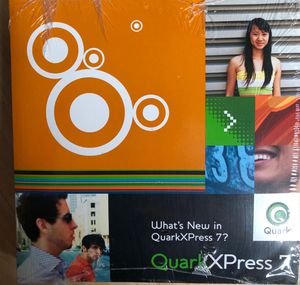 QuarkXpress 7 for Mac owners manual for Sale in Wheeling, IL