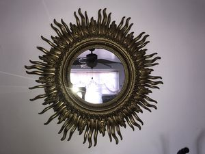 Golden Sun Mirror for Sale in Brooklyn, NY