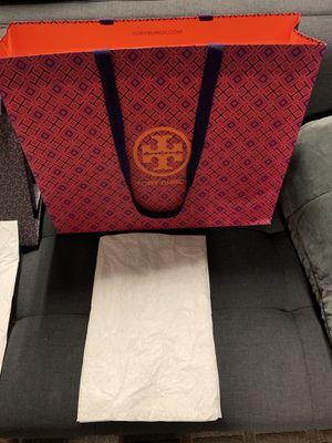 TORY BURCH gift bags. for Sale in Arlington, VA