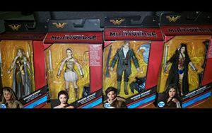 DC Comics Multiverse Wonder Woman Combo for Sale in Philadelphia, PA