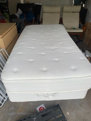 Twin bed with frame for Sale in Vancouver, WA