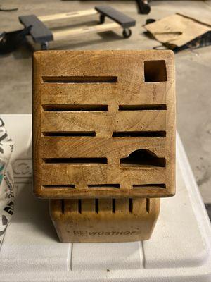 Wüsthof 17-Slot Knife Block | OG Price: $49.99 for Sale in Del Sur, CA