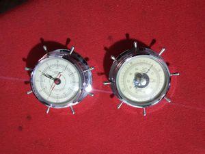 AirGuide Nautical Clock Barometer set for Sale in Las Vegas, NV