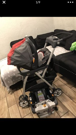 Chicco stroller and car seat set for Sale in Riverside, CA