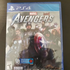 Avengers PS4 Brand New Video Game for Sale in Chandler, AZ