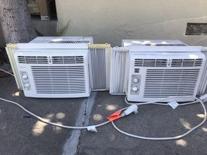 2 window and one portable AC 240$ for all. for Sale in Los Angeles, CA