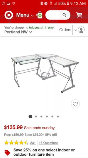 Corner Desk for Sale in Bothell, WA