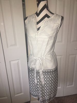 A New Day White & Black Patterned Dress for Sale in Lorton, VA