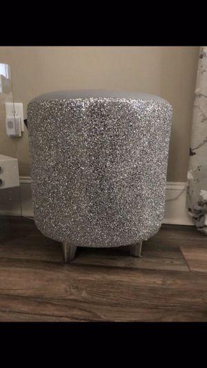 Glitter furniture company stool for Sale in Matthews, NC
