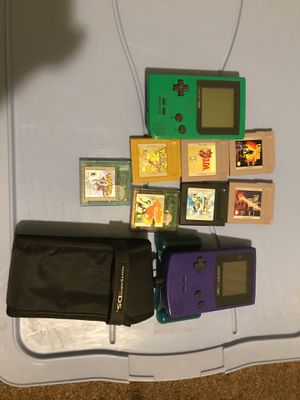 Game boy consoles with games for Sale in Berenda, CA