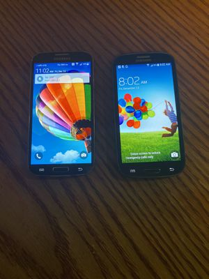 Galaxy S3 & galaxy S4 16gb AT&T ~CRICKET for Sale in Ceres, CA