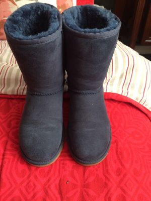 UGG navy blue boots for Sale in Oakland, CA