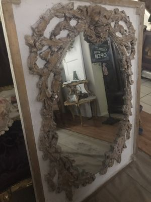 Gorgeous tall mirror with lion face 48 inches tall and 36 inches wide for Sale in Pflugerville, TX