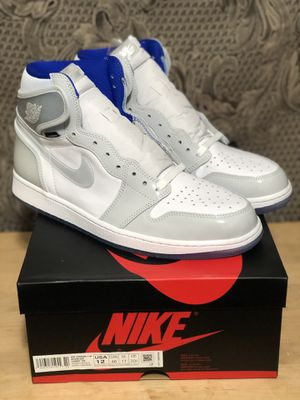 Jordan 1 zoom racer blue size 12 ds for Sale in Milwaukie, OR
