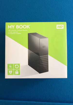 WD My book 4 tb brand new for Sale in Wayland, MA