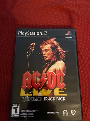 AC/DC Live Rock Band Track Pack PS2 for Sale in Tucson, AZ