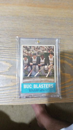 Baseball card- 1963 Roberto Clemente buc blasters for Sale in West Stayton, OR
