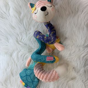Infantino Baby Gaga Fox Spiral Rattle Teether Crib Toy for Sale in Centerton, AR