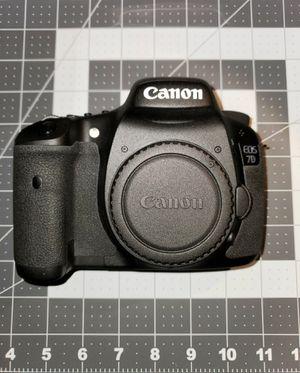 Canon 7D Mark I (Camera no Lens) for Sale in Pasadena, CA