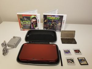 Dark Red Nintendo 3DSXL Full Bundle for Sale in Miami, FL