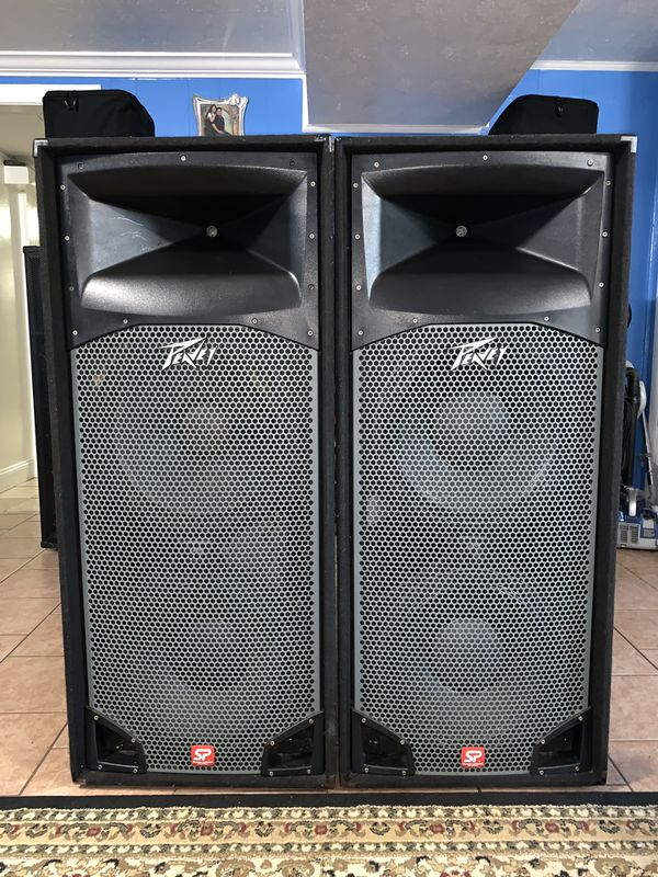 Dj Speakers Two! Peavey Sp4