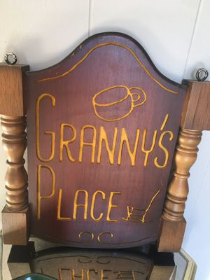 Hanging Double Sided Printing Granny's Place for Sale in Nashville, TN