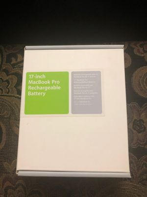 Apple 17-inch MacBook Pro Rechargeable Battery for Sale in Clearwater, FL