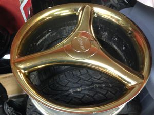 """22"""" rims and brand new tires for Sale in Tupelo, MS"""