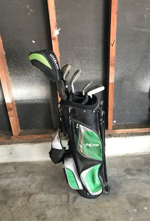 Golf clubs bag set youth for Sale in Selma, CA