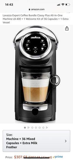 Lavazza Expert Coffee and Cappuccino maker LB 400 Nespresso machine coffeemaker for Sale in Universal City,  CA