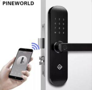 PINEWORLD Biometric Fingerprint Lock, Security Intelligent Lock With WiFi APP (New) for Sale in Los Angeles, CA