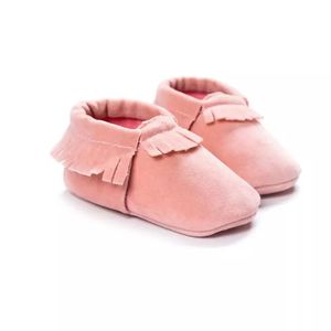 Newborn Toddler Infant Boys Girls Tassel Shoes Toddler Soft Sole Coral Velvet Baby Moccasins Shoes Baby Crib Shoes PU for Sale in Chandler, AZ
