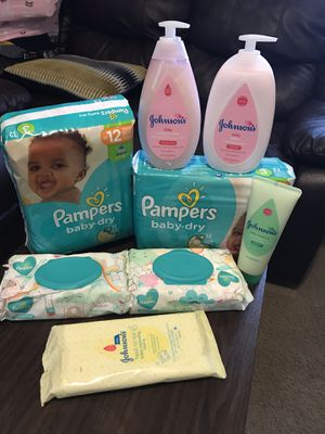 Baby size 3 pampers bundle for Sale in Norfolk, VA