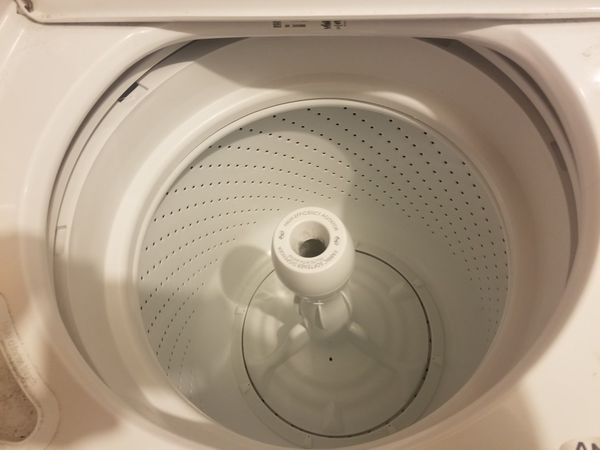 Washer and dryer amana
