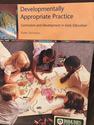 Developmentally Appropriate Practice & CD Textbook for Sale in Ashburn, VA