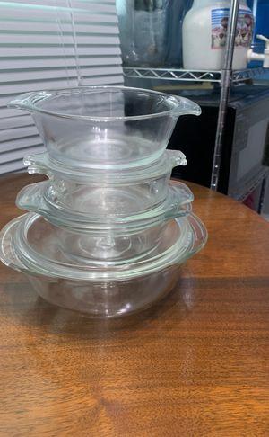 10 oz. to 1qt. Size Pyrex set for Sale in Hemet, CA