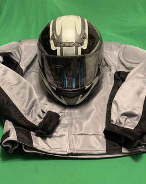 Matching helmet and jacket plus extra helmet for Sale in Chesterfield, MO